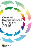 Costs of Doing Business in Thailand (2016)