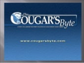 Cougar Byte Layout