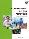 Coulometric Sulfur Analyzer by ACMAS Technologies Pvt Ltd.