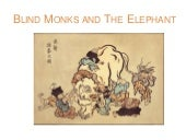 Blind Monks and the Elephant -  ICTs and Higher Education Futures