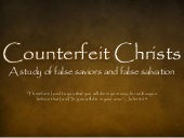 Counterfeit Christs - Occult