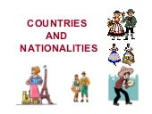 Countries-Nationalities