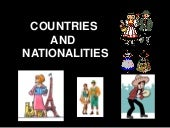 Countries- nationalities