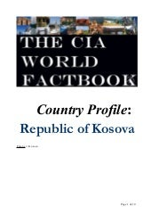 Country Profile Kosova
