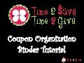 How to Organize Coupons - Coupon Binder Tutorial April 2010