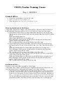 Celta assignment