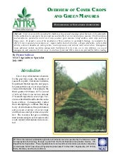 Overview of Cover Crops and Green M...