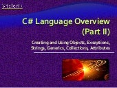 C# overview part 2