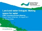 Land and water linkages - Workshop ...