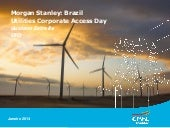 Morgan Stanley | Brazil Utilities C...
