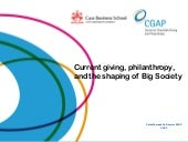Current giving, philanthropy, and t...