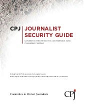 Cpj journalists safety guide 2012