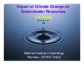 Impact of Climate Change on Groundw...