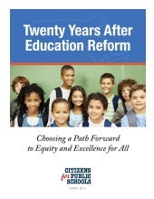 20 Years After Education Reform: Ch...