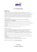 Contract C++ QT Developer