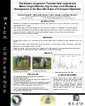 Poster: Participatory approach towards hydrological and meteorological monitoring …