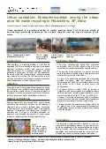 Poster: Urban sanitation: entrepreneurships among the urban poor for waste recycli…
