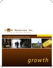 Claude Resources Inc. 2010 Annual ...