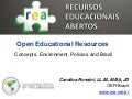 Open Educational Resources at the mAlliance and OAS Seminar series