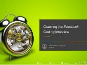 Cracking the Facebook Coding Interview