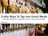 Crafty Ways To Tap Into Social Medi...
