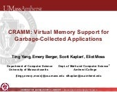 CRAMM: Virtual Memory Support for G...