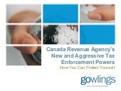 Canada Revenue Agency's New and Agg...