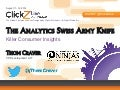 The Analytics Swiss Army Knife - by @ThomCraver #clickz
