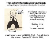The Scottish Information Literacy P...