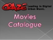 Craze Movies Catalogue Slidewhow