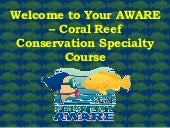 Project AWARE Coral Reef Conservation