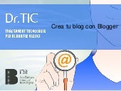 Crea blog blogger