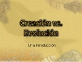 Creacion vs evolucion_introduccion
