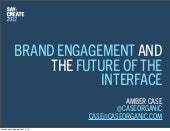 Brand Engagement and the Future of ...