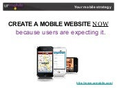 Create A Mobile Website Now