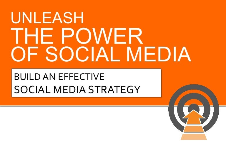 Create an Effective Social Media Strategy