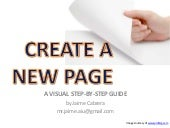 Create a New Page on Your Website