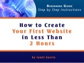 Create a Website in Less than 2 Hours