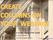 Create Columns on Your Webpage