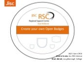 Create your own open badges