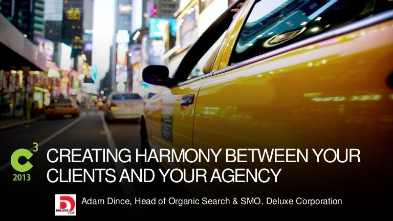 Creating Harmony Between Your Agency and Client