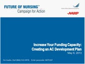 Increase Your Funding Capacity:  Creating an AC Development Plan