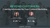 Creating Advocates for Your Content Marketing