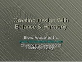 Creating Design With Balance & ...