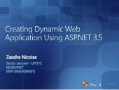 Creating Dynamic Web Application Us...