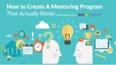 How to Create Mentoring Programs That Work | Webinar 11.25.15
