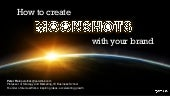 Creating MOONSHOTS with BRANDS by P...