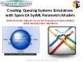 Creating queuing system simulations with enterprise architect sysml parametric models