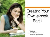 Creating your own e book TBLC July ...
