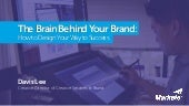 The Brain Behind Your Brand: How to Design Your Way to Success